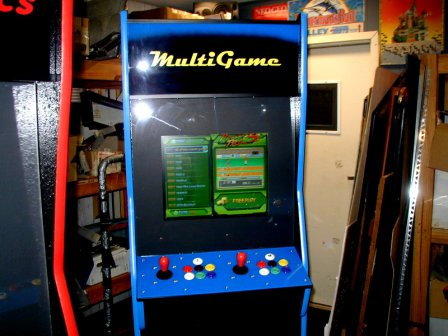 Brand New Cabinet / All New Controls, PCB, Coin Mech, Coin Box, Power Cord, Wiring, Switches Etc