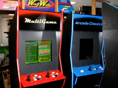 1299 Game Arcade Game (Red Trim) Rebuilt / Updated Electronics /  $1249.99