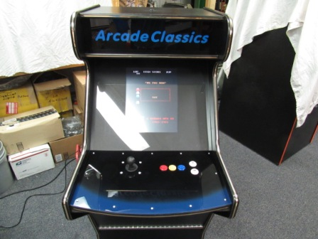 This Machine Has Been Sold / But I Could Build Another Like It If You Wanted, Could Build With Any Configuration Of Games Offered On The Site In Any Of Our Other Machines
