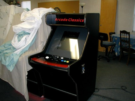 Sit Down Arcade Multi Game Machine / 60 Games, New Wiring & Controls  $950